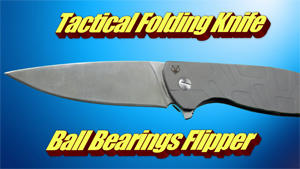 Hot Sales! Bear Tactical Folding Knife Ball Bearings Flipper
