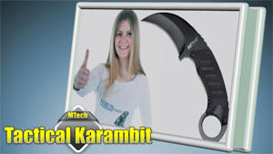 MTech Tactical Karambit Neck Knife